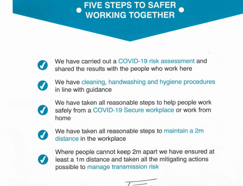 FIVE STEPS TO SAFER • WORKING TOGETHER